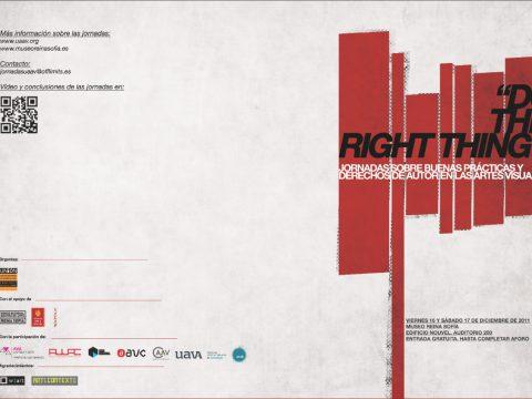 DO THE RIGHT THING / Informe sobre las buenas prácticas