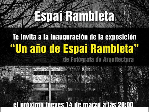 Un año de Espai Rambleta / Mariela Apollonio