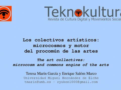 COLECTIVOS ARTÍSTICOS / Teresa Marín y Enrique Salóm