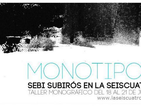 TALLER: Monotipos / la seiscuatro