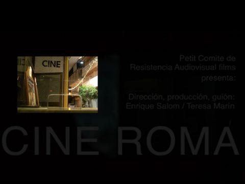 Documental Cine Roma / Teresa Marín y Enrique Salom