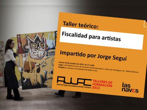 Taller: Fiscalidad para artistas