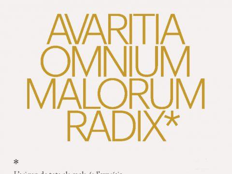 12 Biennal Martínez Guerricabeitia / AVARITIA