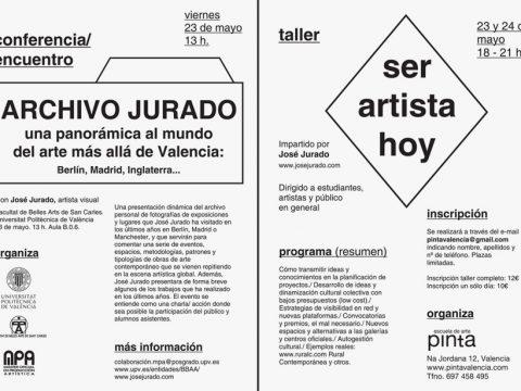"""Taller """"Ser artista hoy"""""""