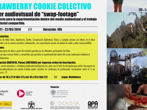 Taller audiovisual de SWAP-FOOTAGE / Strawberry Cookie Colectivo