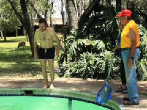El Nadador / Fermín Jiménez Landa
