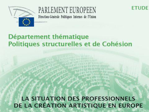 Situación de los artistas en Europa – Parlamento Europeo