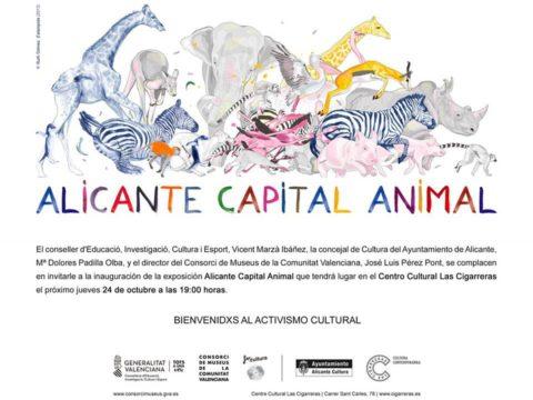 Anja Krakowski/ Exposición colectiva/ Alicante Capital Animal/ Las Cigarreras/ Alicante.
