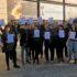 AVVAC vuelve a reclamar mediante una procesión  y la entrega de una carta dirigida al IVAM, el libre acceso al museo de las asociaciones de artistas visuales.