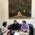 Gloria Tello, Concejal de Cultura del Ayuntamiento de Valencia, se muestra abierta a la participación y colaboracion en el diseño de políticas para el sector de las artes visuales en la ciudad, ante representantes de AVVAC.