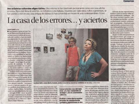 Graham Bell/ Exposición: La Erreria X/ del 17-06 al 31-08/Las Naves/ València